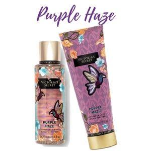 2a7680b807b Victoria s Secret Accessories - Victoria Secret Purple Haze Fragrance  Lotion Mist